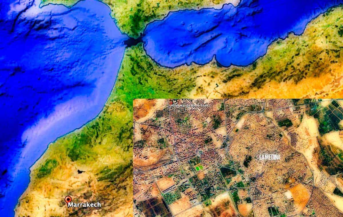 Espagne Maroc RAK Medina Tichka